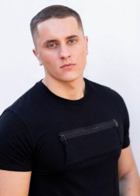 Actor Pavel Anton - Short Hair